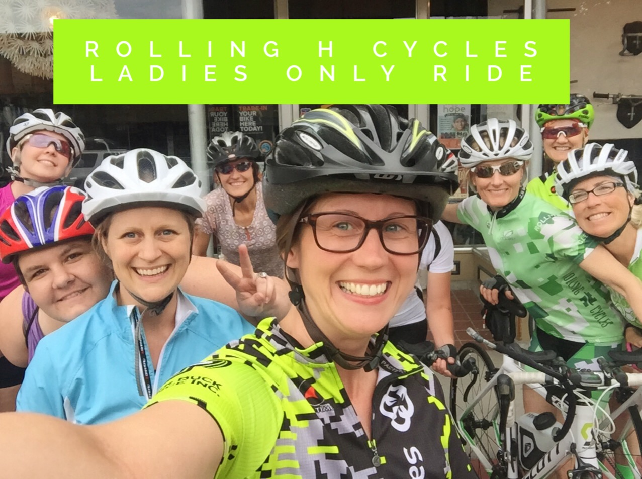 Rolling H Cycles Ladies Ride