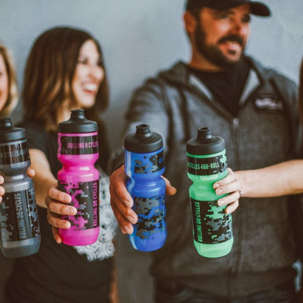 Rolling H Cycles Water Bottle