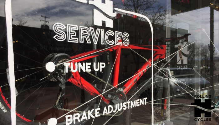 Rolling H Cycles Bike Tune Up